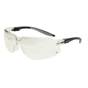 BOLLE AXIS 2 SAFETY GLASSES ANTI-SCRATCH CONTRAST LENSES