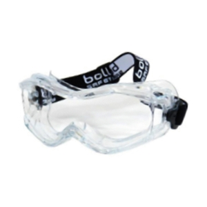 BOLLE STORM SAFETY GOGGLES ANTI-SCRATCH ANTI-FOG CLEAR