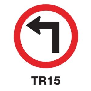 TR15 REGULATORY SIGN ALUMINIUM 60 CENTIMETRES