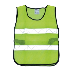 YAMADA GR-6045U TRAFFIC VEST 60X45 CENTIMETRES GREEN