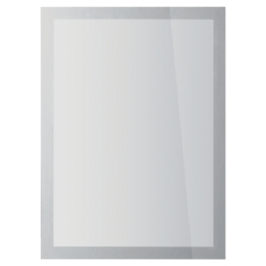DURABLE 4841-23 DURAFRAME ADHESIVE MAGNATIC DISPLAY FRAME A4 SILVER PACK OF 2