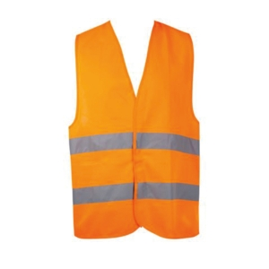 BEST ONE TRAFFIC VEST POLYESTER ORANGE