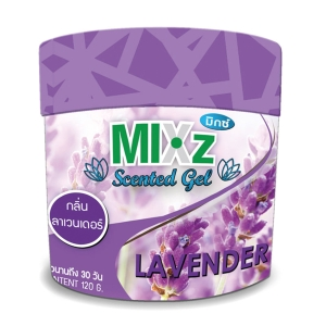 MIXZ SCENTED GEL LAVENDER 120 GRAMS