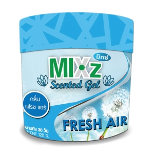 MIXZ SCENTED GEL FREASH AIR 120 GRAMS
