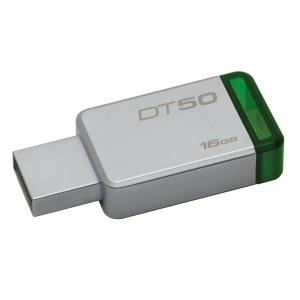 KINGSTON แฟลชไดรฟ์ รุ่น DT50 16 GB สีเขียว