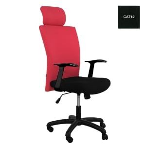 ACURA OWNER/H EXECUTIVE CHAIR FABRIC BLACK