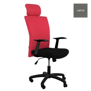 ACURA OWNER/H EXECUTIVE CHAIR FABRIC GREY