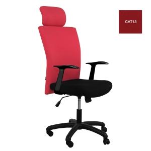 ACURA เก้าอี้ผู้บริหาร รุ่น OWNER/H  ผ้าสีแดง
