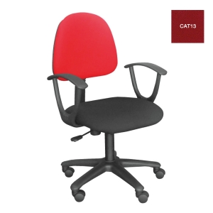 ACURA TOA01/A OFFICE CHAIR FABRIC RED