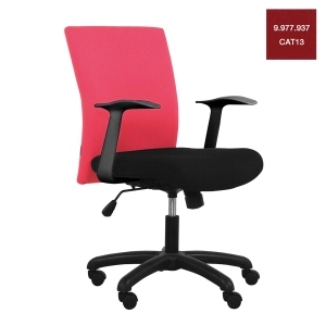 ACURA OWNER/A OFFICE CHAIR FABRIC RED