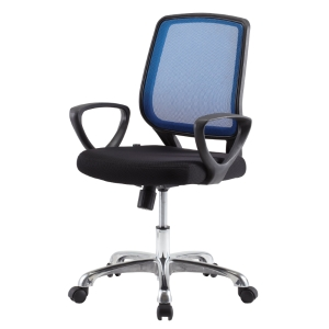 ZINGULAR IRENE OFFICE CHAIR BLUE/BLACK