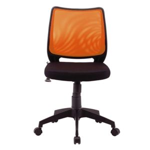 ZINGULAR ALICE OFFICE CHAIR ORANGE/BLACK