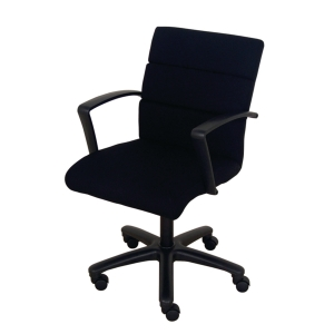 ACURA NP-01/AP OFFICE CHAIR FABRIC  BLACK