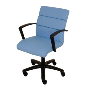ACURA NP-01/AP OFFICE CHAIR FABRIC  BLUE
