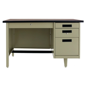APEX ANT-2642 STEEL OFFICE DESK CREAM