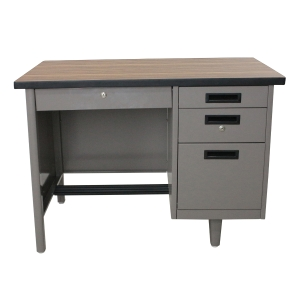 APEX ANT-2648 STEEL OFFICE DESK GREY