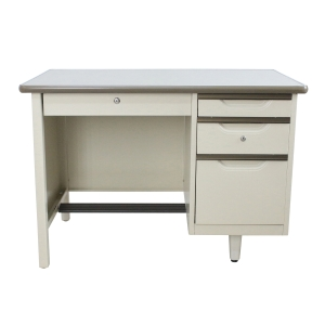 APEX ATC-2642 STEEL OFFICE DESK CREAM