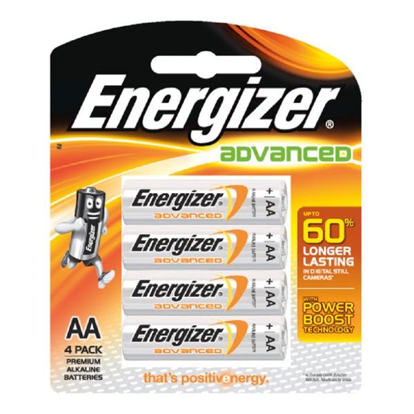 ENERGIZER ถ่านอี-สแควร์ X91 AA 1.5 โวลต์4 ก้อน