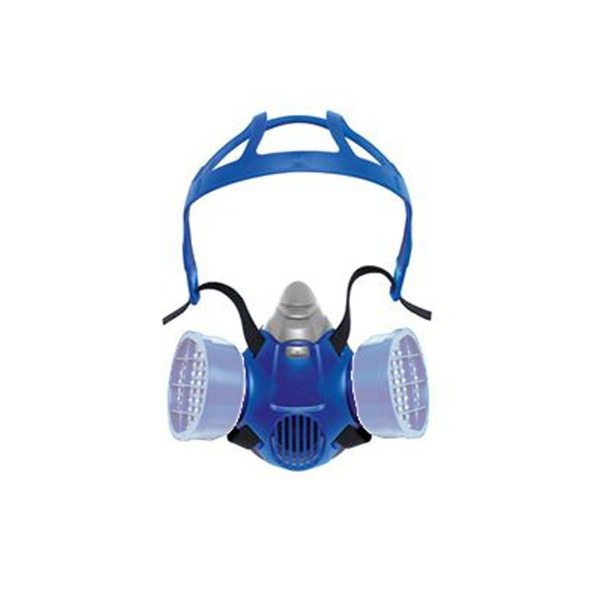 DRAGER X-PLORE 3300 DUAL HALF RESPIRATOR TPE M BLUE