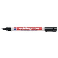 MARKER PERMANENT EDDING 404 RUND 0,7 MM SPISS SORT