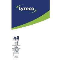 BLOKK LYRECO A5 LINJERT U/HULL TOPPLIMT