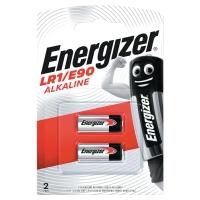 BATTERI ENERGIZER LR1/E90 ALKALINE PK2