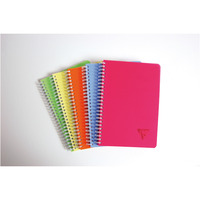 NOTATBOK CLAIREFONTAINE LINICOLOR PP A5 90G LINJERT