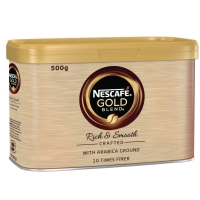 KAFFE INSTANT NESCAFE GOLD BLEND BOKS À 500 GRAM