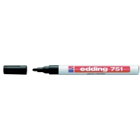 PAINT MARKER EDDING 751 RUND 1-2MM SORT