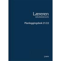 PLANLEGGINGSBOK 7.SANS LÆRERE GRUNNSKOLEN INNBUNNDET BLÅ