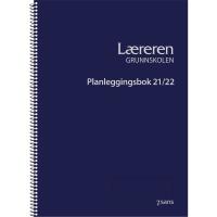 PLANLEGGINGSBOK 7.SANS GRUNNSKOLEN LÆRERE SPIRALISERT BLÅ A4