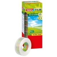 TAPE TESA ECO&CLEAR 19X33 INKLUSIV 1 GRATIS RULL PAKKE À 8 RULLER