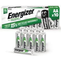 BATTERI ENERGIZER OPPLADBART AA 2000MAH PK10
