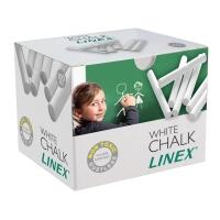 KRITT LINEX RUND HVIT PAKKE À 100 STK