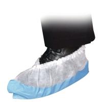 Skoovertrekk Abena hvit med antislip pakke á 100 stk