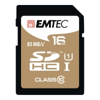 MINNEKORT EMTEC SDHC GOLD 16GB