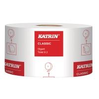 TOALETTPAPIR PK12 KATRIN CLASSIC 106101 GIGANT S2 SEKK À 12 RULLER