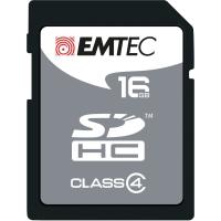 SD-MINNEKORT EMTEC SILVER 16 GB