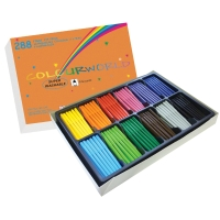 TUSJER COLOURWORLD ASSORTERT PAKKE À 288 STK.