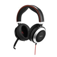 HEADSET JABRA EVOLVE 80 UC DUO USB MS