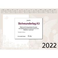 KALENDERE 7.SANS SKRIVEUNDERLAG PAPIR KALENDER A3 BORDALMANAKK 42X29,7CM
