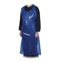 Forkle Abena ldpe 35my 80x130 cm blå pakke á 500 stk