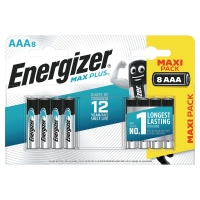 BATTERI ENERGIZER ALKALINE ECO ADVANCED AAA/LR3 PAKKE Á 8 STK