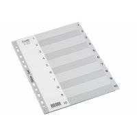 REGISTER BANTEX BASIC-LINE A4 1-10