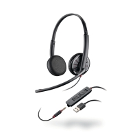 HEADSETT PLANTRONICS BLACKWIRE 325 USB PC