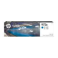 BLEKKPATRON HP 973X F6T81AE CYAN