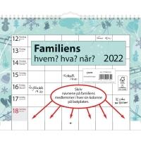 FAMILIEKALENDER HVEM, HVA, NÅR