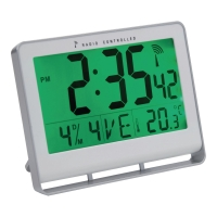 UR ALBA LCD DIGITAL SØLVFARGET 15X20CM