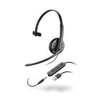 HEADSETT PLANTRONICS BLACKWIRE C315.1