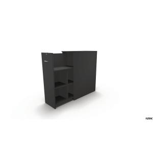 UTTREKKSSKAP MAXI TOWER 3 ROM D80CM VENSTRE ANTRASITT